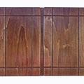 """REF. 288     """"PIEZA ÚNICA""""  dos puertas con cuelga llaves interior. Contrachapado color wengé.  Medidas interiores 50 x 32,5 x 4 cm. exteriores 53,5 x 40 x 5,5 cm. DISPONIBLE 75 €. Gastos de envío incluidos"""