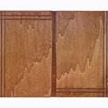 """REF. 289    """"PIEZA ÚNICA""""  dos puertas con cuelga llaves interior. Contrachapado color castaño.  Medidas interiores 50 x 32,5 x 4 cm. exteriores 53,5 x 40 x 5,5 cm. DISPONIBLE 75 €. Gastos de envío incluidos"""
