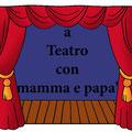 Sissa Trecasali va a teatro con mamma e papà