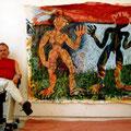 im atelier in krumau, 2007