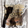 triptychon, bild I
