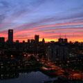 Anochecer en Buenos Aires