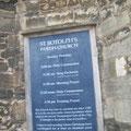 Iglesia de Saint Botolph patron de los inmigrantes y viajeros Cambridge