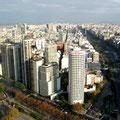 Vista de edificios en Buenos Aires