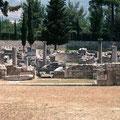 Ruinas romanas en Croacia