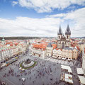 Old Town Square in Prague, Czech Republic BY VIKTOR HANACEK
