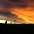 sunset en el Cusco