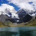 Monte Yerupajá Perú