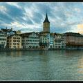 Limmat River. Zurich