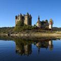 Castillo Auvergne Francia
