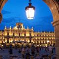 Salamanca España, plaza mayor