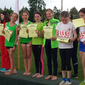 Platz 2 für die 4x50m Staffel U12