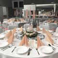 Tischdekoration, Raumdekoration, Blumengesteck