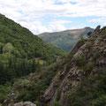 Paysage autour de Vals