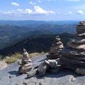 Vue depuis le mont Gerbier de Jonc - à 38 km de Vals les Bains