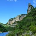 Les gorges de l'Ardèche - à 35 km de Vals les Bains