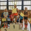 SV Balow; Hallenmeeting 2019: Medizinballstoßen / 2. Platz / Finja