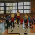 SV Balow; Hallenmeeting 2019: Medizinballstoßen / 3. Platz / Luc