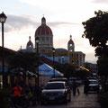 Blick auf die Kathedrale von der Calzada aus