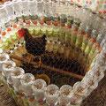 Hühnerkäfig aus Flaschen --> Recycling mal anders!