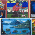 Wandmalerei in San Juan la Laguna