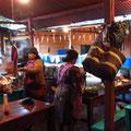 Frühstück auf dem Markt....