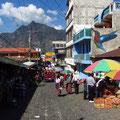 Markt in San Pedro la Laguna