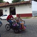 gemütlicher Transport