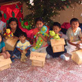 Die Kinder der Kindertagesstätte Casa Milagro