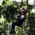 Ziplining ist auch möglich