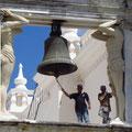 Arbeiter auf der Kathedrale