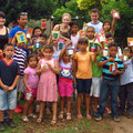 Die Kinder mit Carlos, Elena, Matt und mir