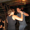Bosco und Adelheid beim Salsa