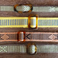 Belts with sliders