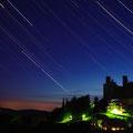 Sternspuren über Burg Hanstein...aufgenommen zusammen mit Uwe Petzl am 13.05.2012