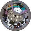 Aufgenommen von Uwe Petzl mit meiner Kamera. Fotografiert wurde auf einen Kuppelspiegel,dadurch sind solche 360° Aufnahmen möglich