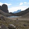 Antermója-See mit Königin Marmolada als Kulisse