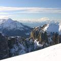 Weite Ausblicke vom Gipfel