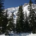 Viel Schnee auf der Dreischustergruppe