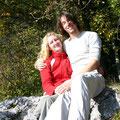 Das allererste Kletterfoto von uns beiden!