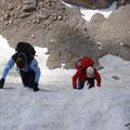 #1 - Gehen im Steilfirn, Sturztechniken