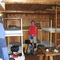 unsere gemtüliche Biwakhütte