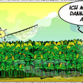 Glyphosat vs. Biene