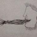 Senza titolo, matita su carta, 2012