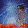 Racconto di un sé, tempera su tela, 30x40, 2009