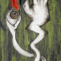Senza Titolo, acrilico, 70x30, 2012