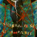 Visibile <-> in sé/ Es in <-> visibile, acrilico su cartone e collage, 72x51, 2012