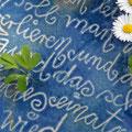 Wasserschale mit Schriftdekor