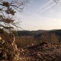 Blick vom Steinernen Gassl nach Förrenbach
