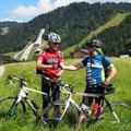 Ein herzliches Dankeschön an unserem Radler Götz für die schöne Rennradtour Hersbruck-Garmisch